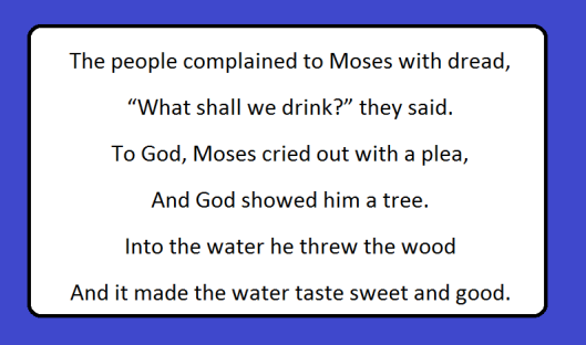Moses Pleas to God for Water